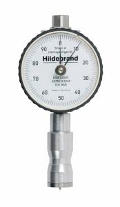 Duromètre analogique SHORE A,D et O Selon DIN, ISO et ASTM avec aiguille de maximum