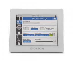 Enregistreur de température à sonde externe, écran tactile couleur