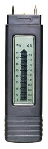 Humidimètre bargraphe pour le bois et matériaux