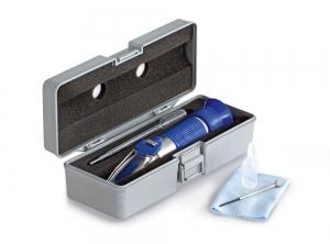 Réfractomètre analogique pour le sel à compensation de température