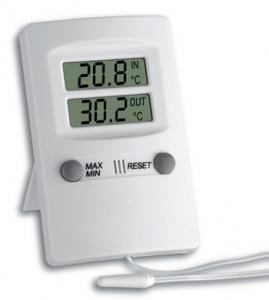 Afficheur de température à deux sondes