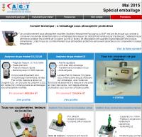 newsletter mesurez.com de juin 2015 Spécial emballages