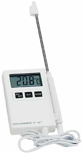 Thermom tre sonde for Thermometre de cuisine avec sonde